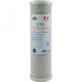 【綠康淨水】通用規格壓縮活性碳濾心10吋標準(RO逆滲透純水機濾心適用)