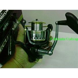 ◎百有釣具◎日本RYOBI ECUSIMA 4培林 雙線杯紡車式捲線器 8000型