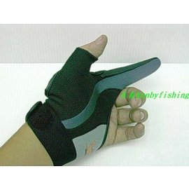 ◎百有釣具◎V-FOX GL-031高品質遠投單指釣魚手套