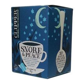 ~ 晚安:洋甘菊•情境花草茶 20包 盒~英國 Clipper Teas~Snore