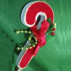 ★聖誕特選★精緻聖誕裝飾~紅色拐杖