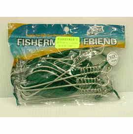 ◎百有釣具◎FISHERMAN`S 安全活漁扣 長度14公分  每包5入
