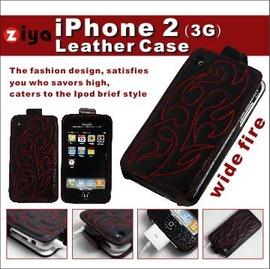 iPhone-2/3 手工皮套/小牛皮套 Leather case