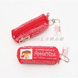 Gladee口香糖,多 鑰匙圈 手機吊飾~紅蘋果