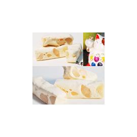香草叭噗夏威夷豆牛軋糖 家庭包 500g