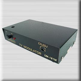 OM~167L,電視頻道產生器 LC調變器CH.2~6