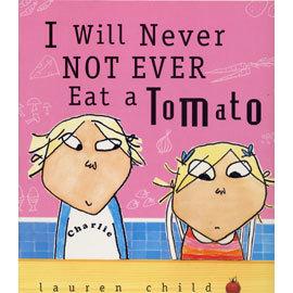 ~小熊媽的 英語繪本~ I WILL NEVER NOT EVER EAT A TOMAT