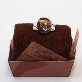 【花現幸福】巧克力蛋糕毛巾出清價50元~婚禮小物