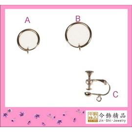 【Q禮品】無鎳鍍韓式耳夾