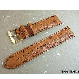 BORCHEER OSTRICH PURE 真駝鳥典藏錶帶_豐富您愛錶歷久彌新的傳奇