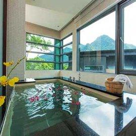 【加贈 - 下午茶組】烏來 - 達利溫泉 - 山瀞套房 - 住宿 , 含早餐