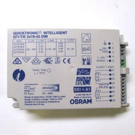 歐司朗OSRAM QTi T/E 2x18-42W DIM 雙燈型調光電子式安定器