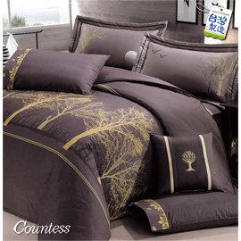 Countess~3250~月夜~雙人5件式床罩組 ^(6尺^)