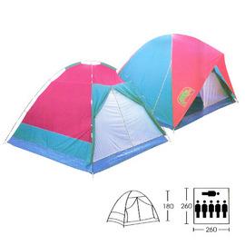 【犀牛 RHINO】一般露營帳蓬T系列 - 六人掛鉤雙門蒙古包.六人帳篷.6人帳棚 TCC650 / TCC-650