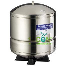不銹鋼RO專用儲水桶4.8加侖(白鐵)