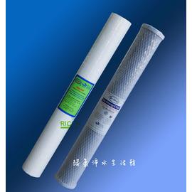 【綠康淨水】20吋小胖水塔濾水器專用--濾心套餐【小胖】【免運費】