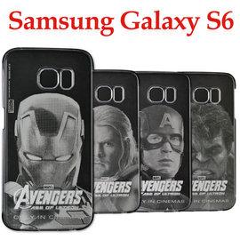 【特惠中】三星 Samsung Galaxy S6 G9208/ SM-G9208 原廠復仇者聯盟可替換式透明背蓋/輕薄防護背蓋/手機殼