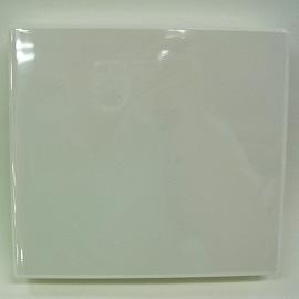 光碟硬質收納盒-白色方形