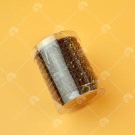 【艾佳】毅點巧克力紙杯-咖啡底金色200入