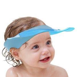 Babyhood 可達鴨洗頭帽  兒童洗髮帽 ~ 藍色