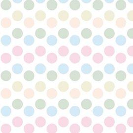C3985~花紋紙~彩色小圓 A4 180P 1包25張^(單面^)當背景、打孔器創作素材