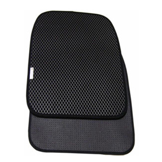 海馬腳踏墊-雙層量身訂做休旅車款3500CC以下(3排-駕駛+乘客座2排+行李箱+椅背防水墊) 圖示介紹1