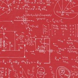 C4027~花紋紙~方程式^(紅底^) A4 180P 1包25張^(單面^)當背景、打孔