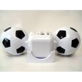 照型可折疊隨身喇叭( iPod、MP3、CD Player均可使用)