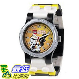 [美國Amazon 代轉帳服務費100元] 樂高積木 LEGO Kid\'s Star Wars Stormtrooper Watch #2907STWST $1398 服務費100元