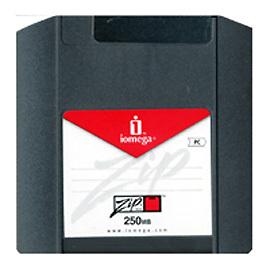 iomega zip 250MB磁片/ ZIP片