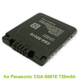 Panasonic CGA-S001 S001E DMC-F1 F2 FX1 FX5 72