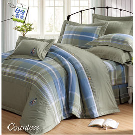 Countess~532~英倫美學~雙人7件式床罩組^(7尺^)