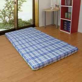 綺思美-[馬雅文化][5公分(厚)聚酯纖維棉]3.5呎x6.0呎-冬夏兩用-上等[藺草日式三折透氣床墊]單人加大-B401A35-BUW