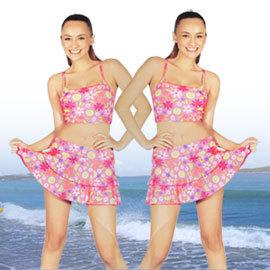 兩件式甜蜜蜜女泳裝.運動 C95-X8801