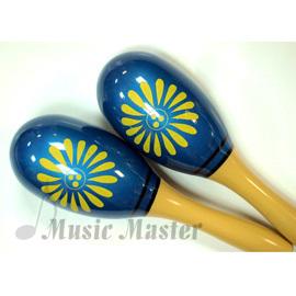 音樂大師^~奧福樂器.仿木柄塑膠製沙鈴~紅 綠 藍~