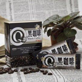 Q10黑咖啡^(5gx15入 盒^)^~無糖無奶精,即溶研磨咖啡的口感~