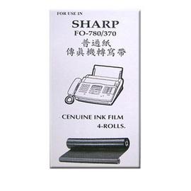 ~~保證台灣製且足米~~SHARP 傳真機轉寫帶(4入/1盒)UX-3CR /適用SHARP FO-780 ,UX-300 / UX- 370 / UX-340ML / UX- 355L **免運費**