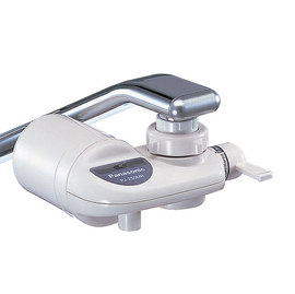 (日本製造)簡易型淨水器Panasonic ★國際牌★ PJ-250MR水龍頭型除菌濾水器