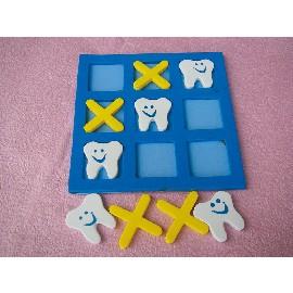 【精選益智遊戲】可愛牙齒寶寶連線遊戲組