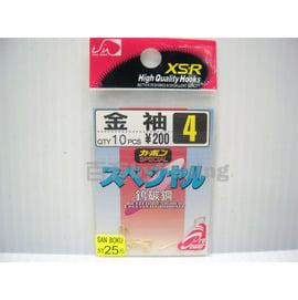 ◎百有釣具◎日本特製魚鉤-金色金袖~買五包再送日本製魚鉤一包