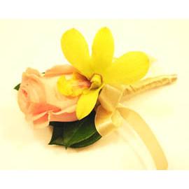 【花現幸福】婚禮-♥新香檳玫瑰胸花♥婚禮用品  新郎新娘  伴娘胸花