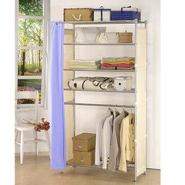 ~收納高手~W5型90公分衣櫥架 可升級成完全防塵衣櫥架