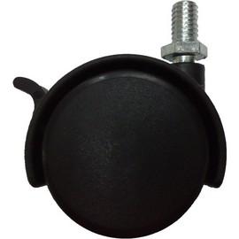 活動雙輪附煞車  直桿  辦公桌/辦公椅/櫃子/架子  專用活動輪