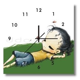 薄型掛鐘28x28x1.0CM 1件~ck28a~113~國際 品牌時鐘大型時鐘長頸鹿掛鐘