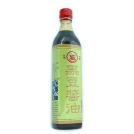 獨一社~黑豆醬油 520cc