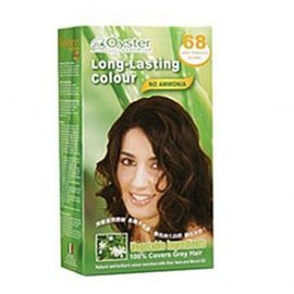 義大利原裝進口長效型植物性染髮劑(含蘆薈&茉洛莉花油讓您染髮+護髮)68號咖啡色