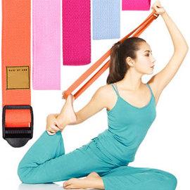 專業瑜珈伸展帶E107-02有氧瑜珈帶韻律帶拉筋帶支撐帶拉力器拉力帶拉力繩扣環擴胸帶皮拉提斯帶瑜珈運動健身用品推薦哪裡買