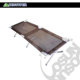 【X-DECUYPER 比利時】最新鋁合金透氣耐磨型-行軍床 擔架床 折疊床 露營.看護.選手休息.三人椅-特斯林布 DS01(補貨中)