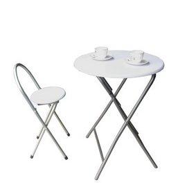 【愛家】[耐重型]折疊桌椅組(一桌一椅)-二色可選-XR-079+1椅