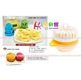 【HH婦幼館】風靡日本韓國~零食也可以很健康.微波爐DIY薯片/地瓜片